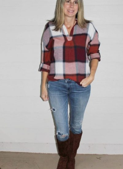 Affordable Plaid Tops