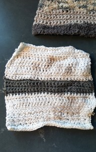 Small wash cloth