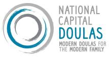 hire a doula, national capital doulas ottawa doula support postpartum logo modern family