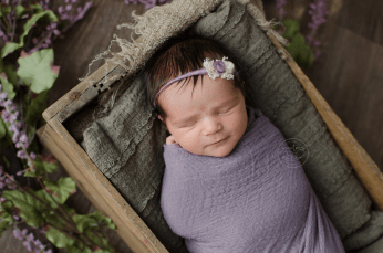 violet-cheesecloth-wrap-newborn-baby-photo-crate-tieback-lavender-ottawa-newborn-photography