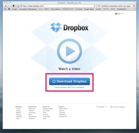 Dropbox  Simplify your life