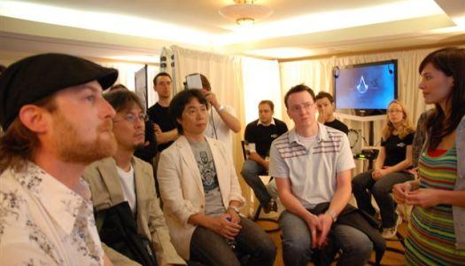 Miyamoto Checks out Assassin's Creed ? Or Jade?