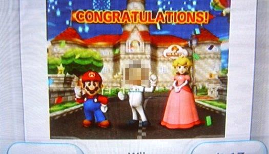 Mario Kart Victory Snap Shot