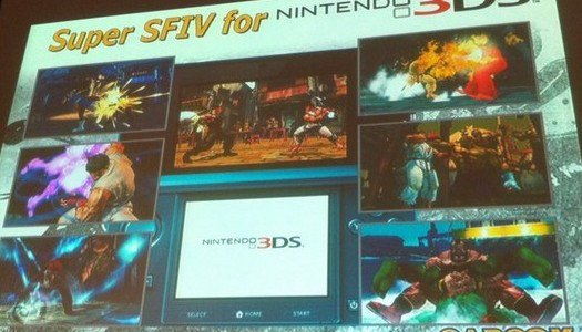 Comic Con: A Look At Super Street Fighter 4 3DS