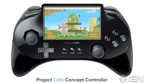 IGN Tries To Put Together What The Wii Successor Controller Mock-up