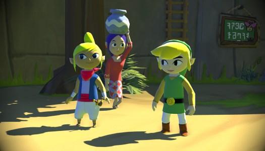 Legend of Zelda: Wind Waker HD Officially Announced, First Screens