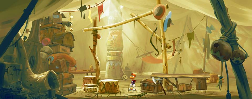 Rayman Legends Concept Art u2013 Tent Inside & Rayman Legends Concept Art - Tent Inside - Pure Nintendo
