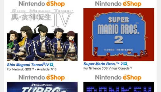 Nintendo Download – July 11, 2013