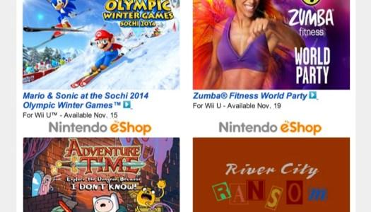 Nintendo Download – November 14, 2013