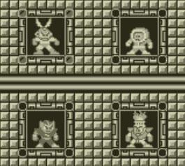 Mega Man Dr. Wily's Revenge - bosses