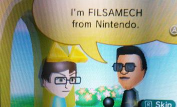 Filsamech visiting a 3DS via SpotPass