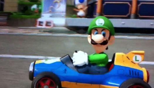 "Luigi's Mario Kart 8 ""Death Stare"" Meme Reported on Fox News"