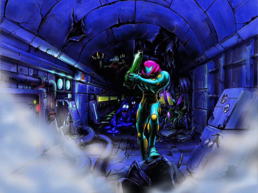 PN Review Metroid Fusion Wii U VC