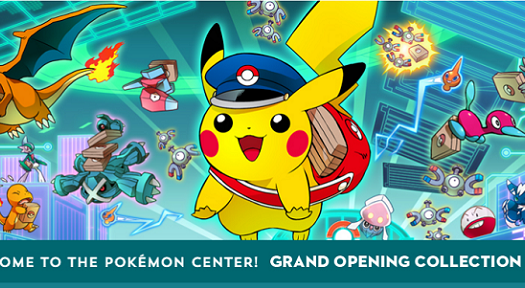 Nintendo Opens Pokémon Center Online Store