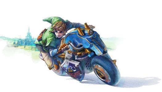 Epona Inspired Bike, Master Cycle, Confirmed For Mario Kart 8 DLC