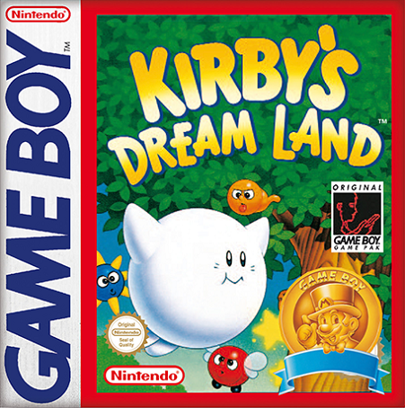 Kirby's Dream Land - box