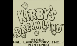 Kirby's Dream Land - title