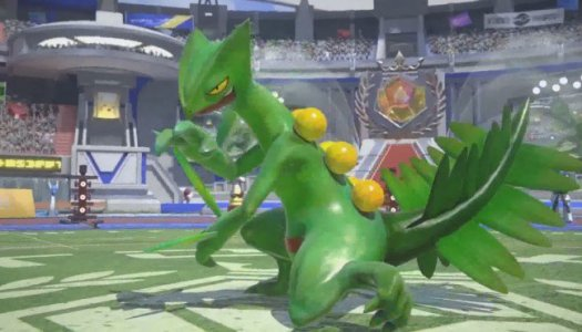 Sceptile Announced for Pokken Tournament