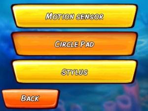 Ocean Runner - control options