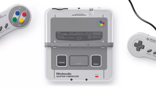 SNES-themed New 3DS Coming to Japan