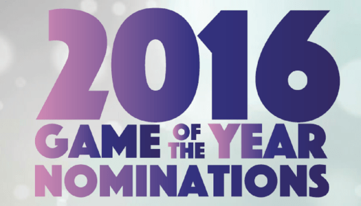 2016 Pure Nintendo Award Nominees