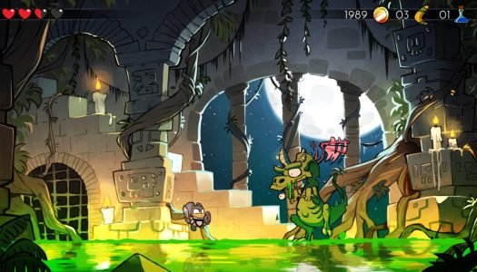 Switch From HD to 8-Bit in Real Time & Load Old Sega Game Saves in Upcoming Wonder Boy: The Dragon's Trap