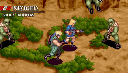Review: ACA NEOGEO Shock Troopers (Switch)