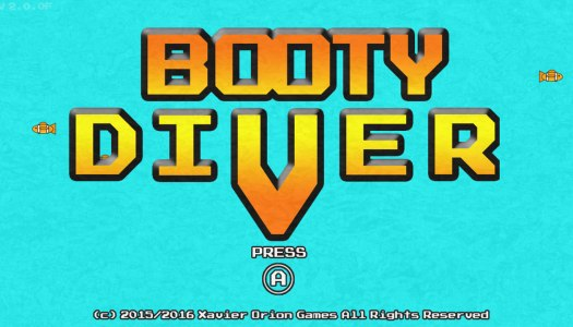 Review: Booty Diver (Wii U eShop)