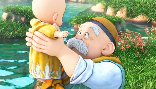 Dragon Quest XI prologue trailer shows the hero's beginning