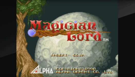 Review: ACA Neo Geo Magician Lord (Nintendo Switch)