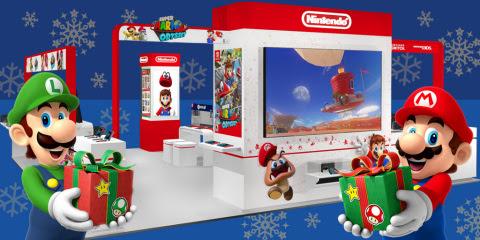 Nintendo Holiday Experience kicks off November 11