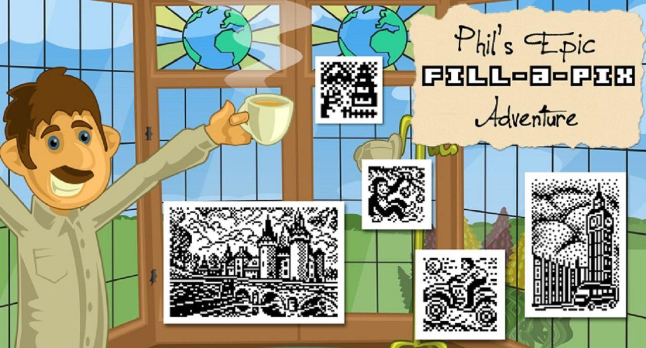 Phil's Epic Fill-a-Pix Adventure