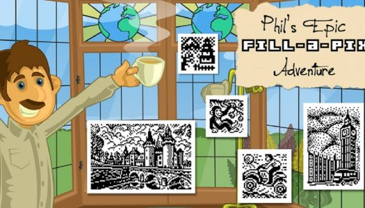 Mini-Review: Phil's Epic Fill-a-Pix Adventure (Nintendo 3DS)