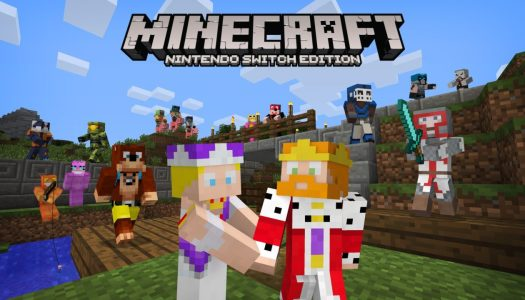 Minecraft Switch Edition gets Microsoft skin pack