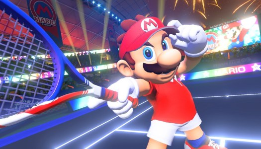 A new Mario Tennis game is coming to Switch