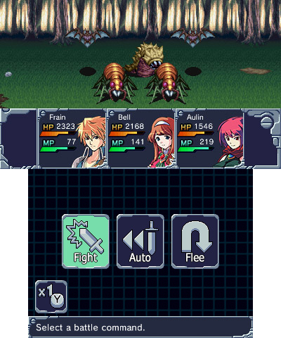 JRPG - Review: Machine Knight (3DS eShop) MK-battle