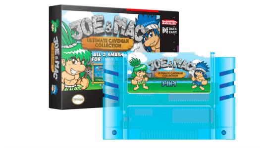 Retro-Bit announces Joe & Mac limited edition system