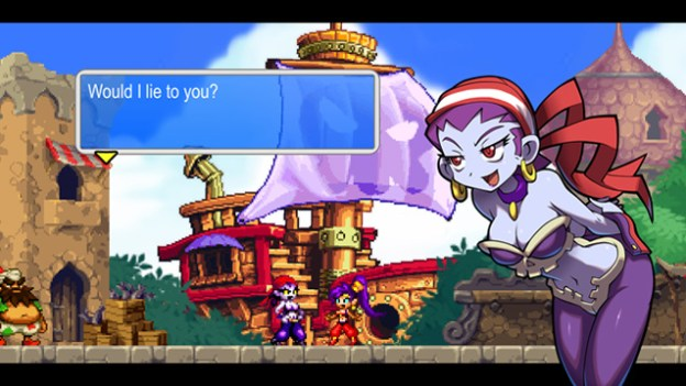 Should Shantae trust Risky Boots?