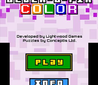 Review: Block-a-Pix Color (Nintendo 3DS)