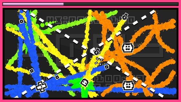 InkSplosion for Nintendo Switch - colorful lines