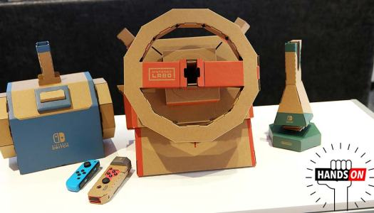 Showing off the Nintendo Labo: Vehicle Kit