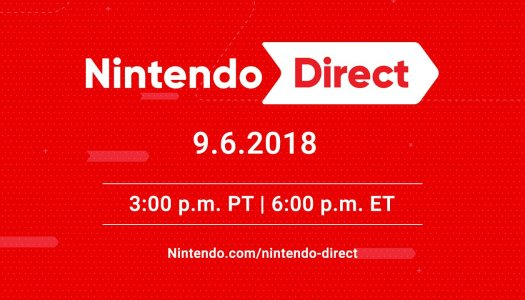 New Nintendo Direct set to air tomorrow, Sep. 6 3pm PT / 6pm ET