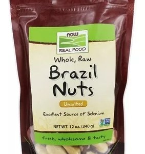 NOW | Brazil Nuts, Whole Raw