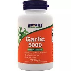 Odor Control Garlic Capsules NOW