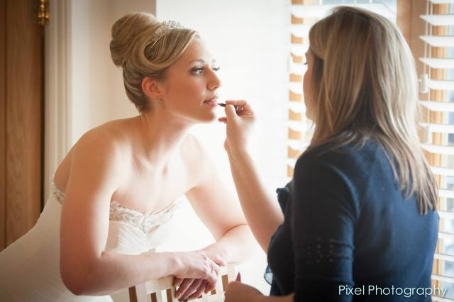 pure pampering - wedding hair and makeup - clare bryce