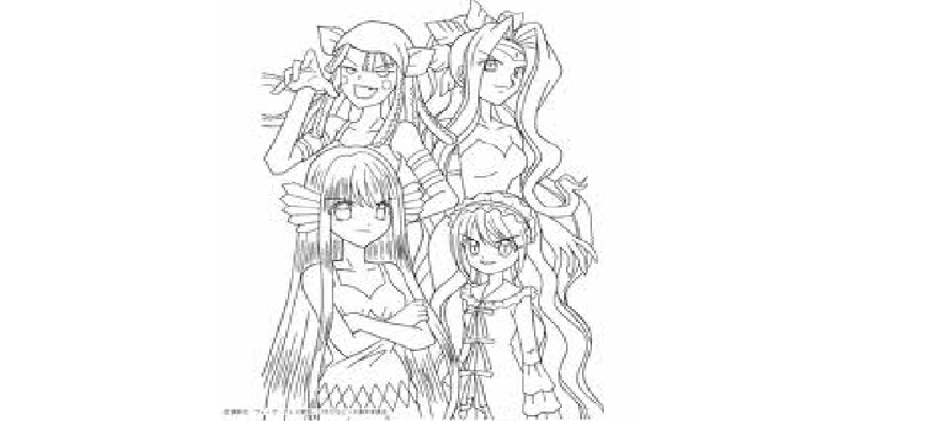 Best Friends Anime Coloring Pages. by wishbone88. chibi coloring ...