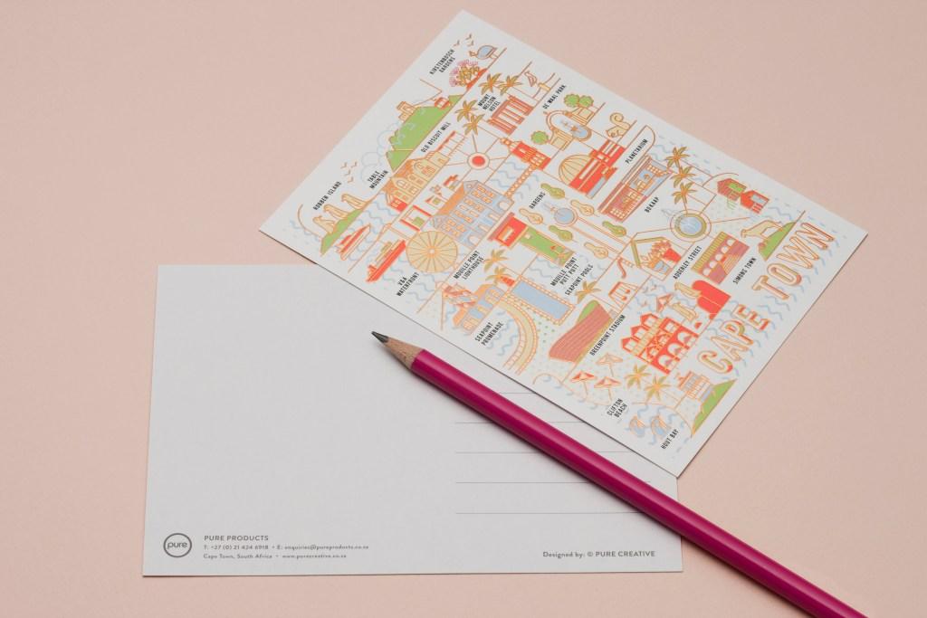 Pure Designer Products Unique Postcards Blog Post