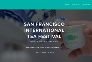 Come have tea with Pure Puer Tea at the 2017 San Francisco International Tea Festival 11-12-17