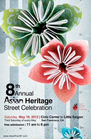 Asian Heritage Street Celebration logo