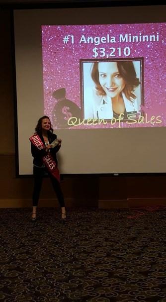 Queen of Sales @ June meeting